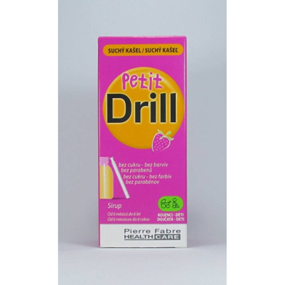 Pierre Fabre Medical Devices Petit Drill sirup 125 ml