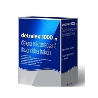 Detralex 1000 mg perorálna suspenzia 30 vreciek