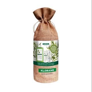 KLORANE Xmass olivier omladenie a hustota vlasov 400 ml šampón + 200 ml balzam + 50 ml suchý šampón