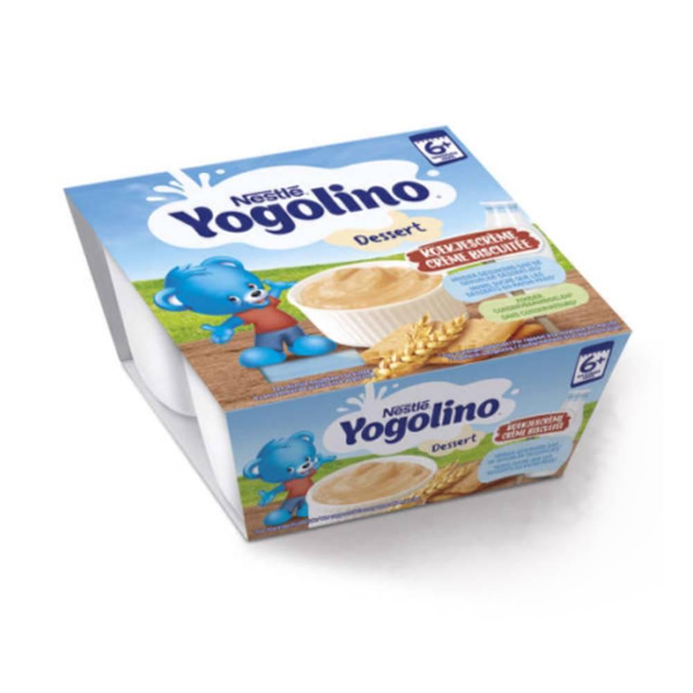 Nestlé NESTLÉ Yogolino sušienka 4 x 100 g