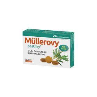DR. MÜLLER Pastilky s olejom čajovníka austrálskeho 24 kusov