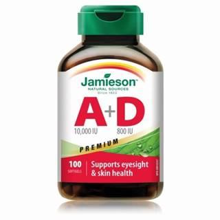 JAMIESON Vitamín A + D premium 100 kapsúl