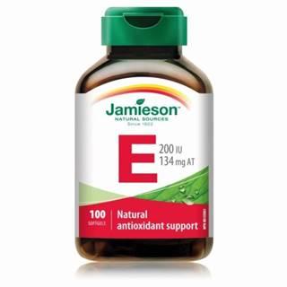 JAMIESON Vitamín E 200 IU 100 tabliet