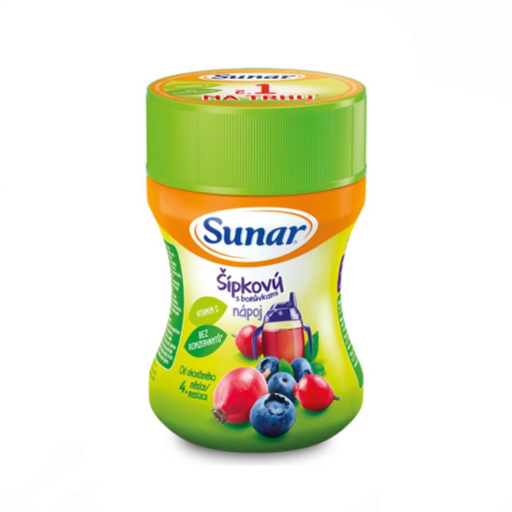 Sunar SUNAR Rozpustný nápoj šípkový s čučoriedkami 200 g