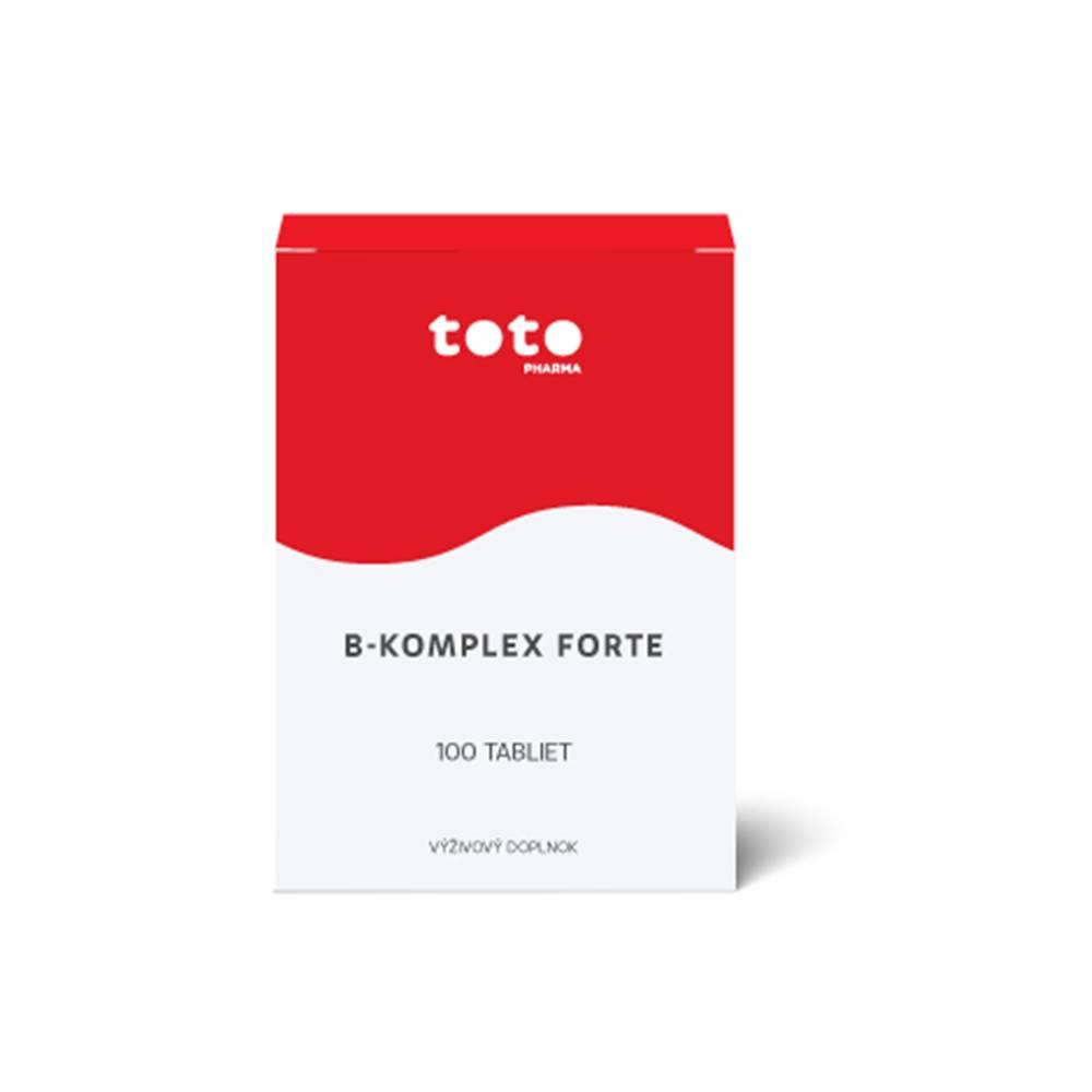 Generica TOTO B-komplex forte 100 cps