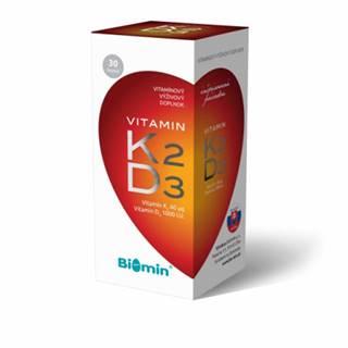 Biomin Vitamín K2 + vitamín D3 60 cps