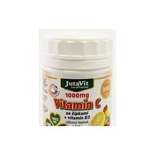 JutaVit Vitamín C 1000 mg so šípkami + vitamín D3 100 tbl