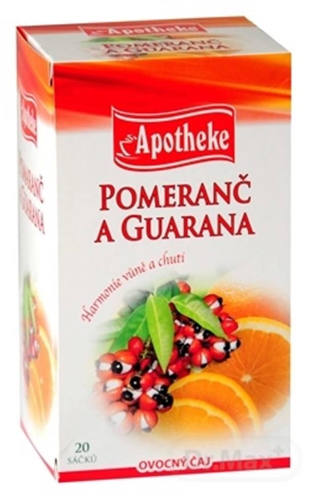 Apotheke Apotheke premier selection čaj pomaranč a guarana