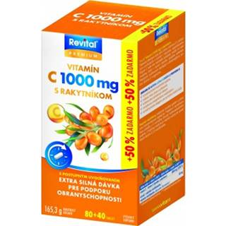 Revital C vitamín 1000 mg + rakytník 80+40 tbl
