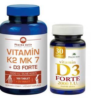 Vitamín K2 MK7+D3 For. Vitamín D3 For.2000/I.U.
