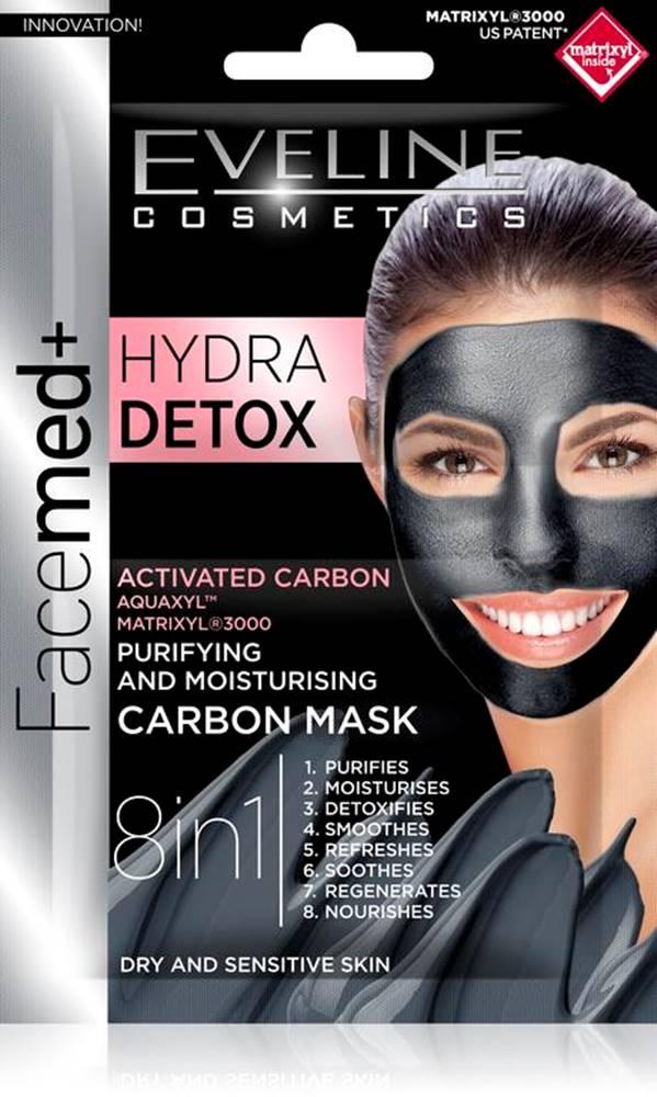 Eveline Facemed Hydra Detox pleťová maska 8v1