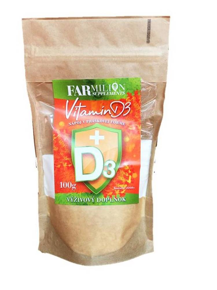 Najtelo Vitamín D3 prášok