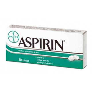 ASPIRIN 500 mg 10 tabliet