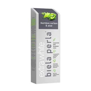 BIELA PERLA Bamboo carbon & aloe zubná pasta 75 ml
