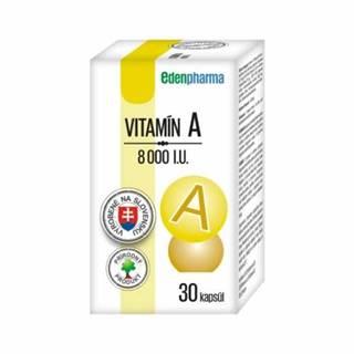 EDENPHARMA Vitamín A 8000 I.U. 30 kapsúl