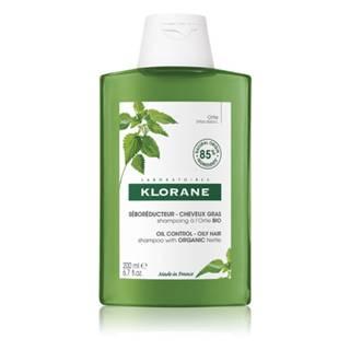 KLORANE Šampón s BIO žihľavou, znižuje tvorbu mazu, mastné vlasy 200 ml