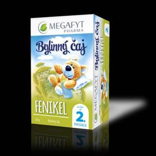 MEGAFYT Bylinný čaj fenikel pre deti 20 x 1,5 g