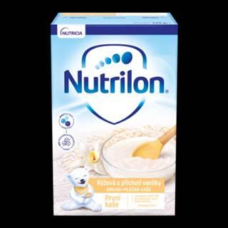 NUTRILON Obilno-mliečna prvá kaša ryžova s príchuťou vanilky 225 g