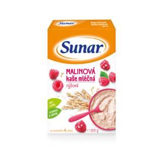 SUNAR Malinová kaša mliečna ryžová 225 g