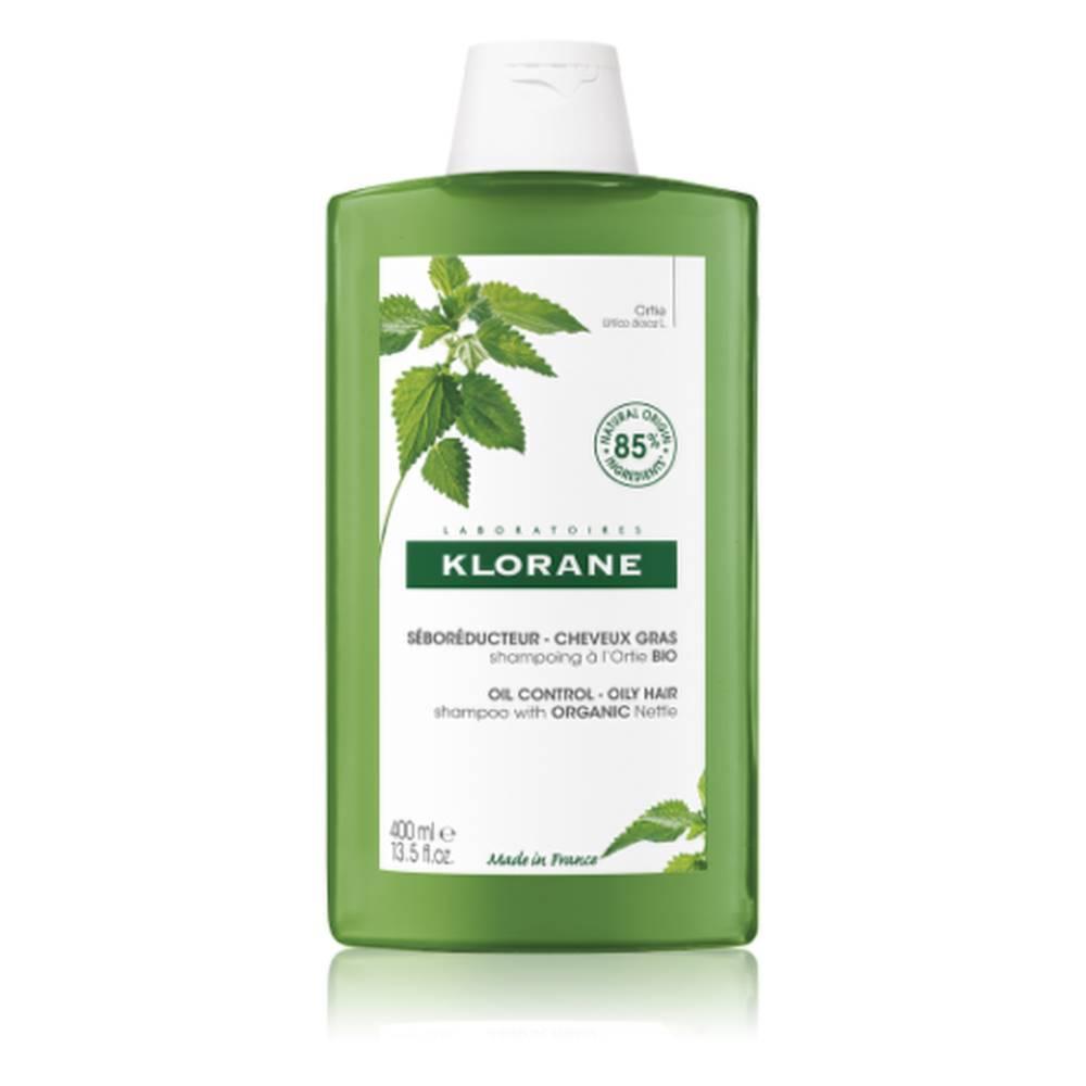 Klorane KLORANE Šampón s BIO žihľavou, znižuje tvorbu mazu, mastné vlasy 400 ml
