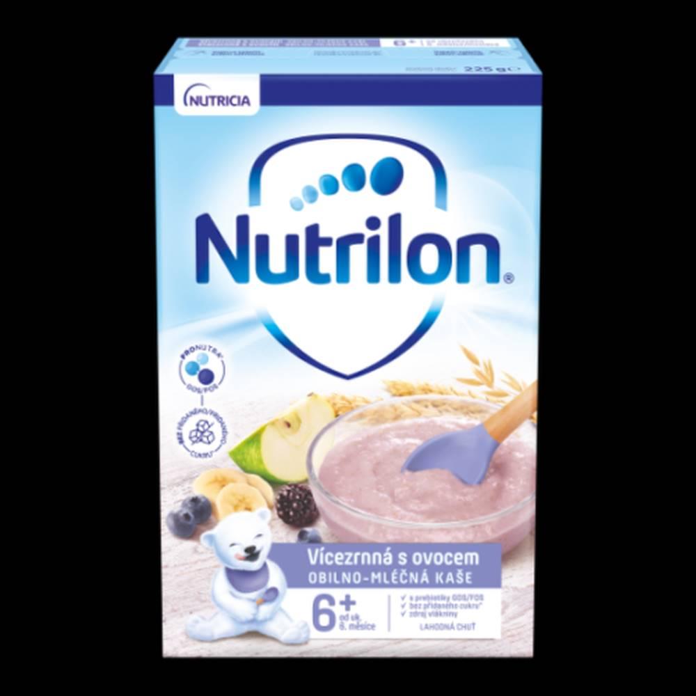 NUTRILON NUTRILON Obilno-mliečna kaša viaczrnná s ovocím 225 g