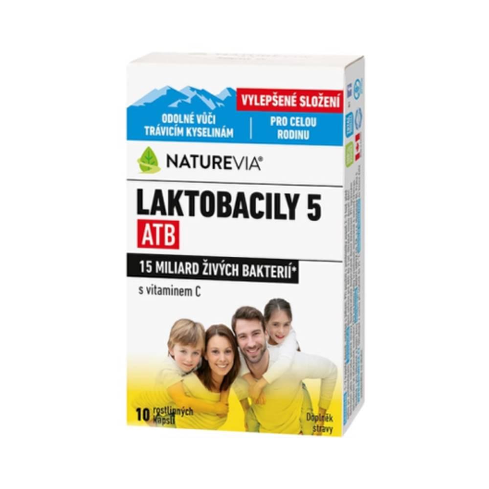 SWISS NATUREVIA SWISS NATUREVIA laktobacily 5 atb/imunita s vitamínom C 10 kapsúl