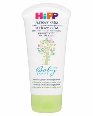 HIPP BabySANFT Pleťový krém sensitive 75 ml