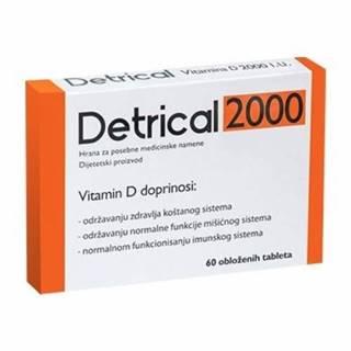 DETRICAL 2000 vitamín D 60 kapsúl