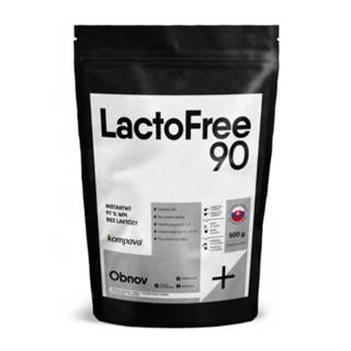 KOMPAVA LactoFree 90 proteín príchuť malina 500 g