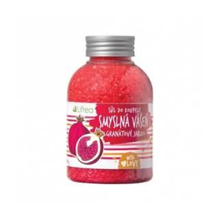 LIFTEA Soľ do kúpeľa zmyselná vášeň gamátové jablko 600 g