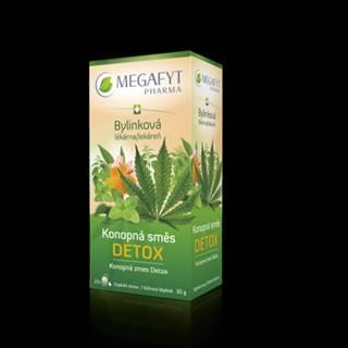 MEGAFYT Čaj bylinková lekáreň konopná zmes detox 20 x 1,5g