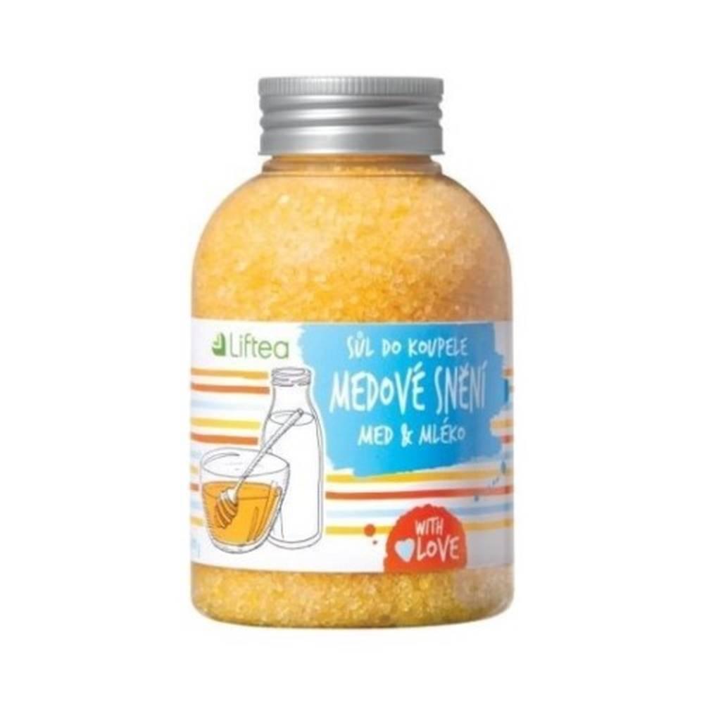 Liftea LIFTEA Soľ do kúpeľa medové snívanie 600 g