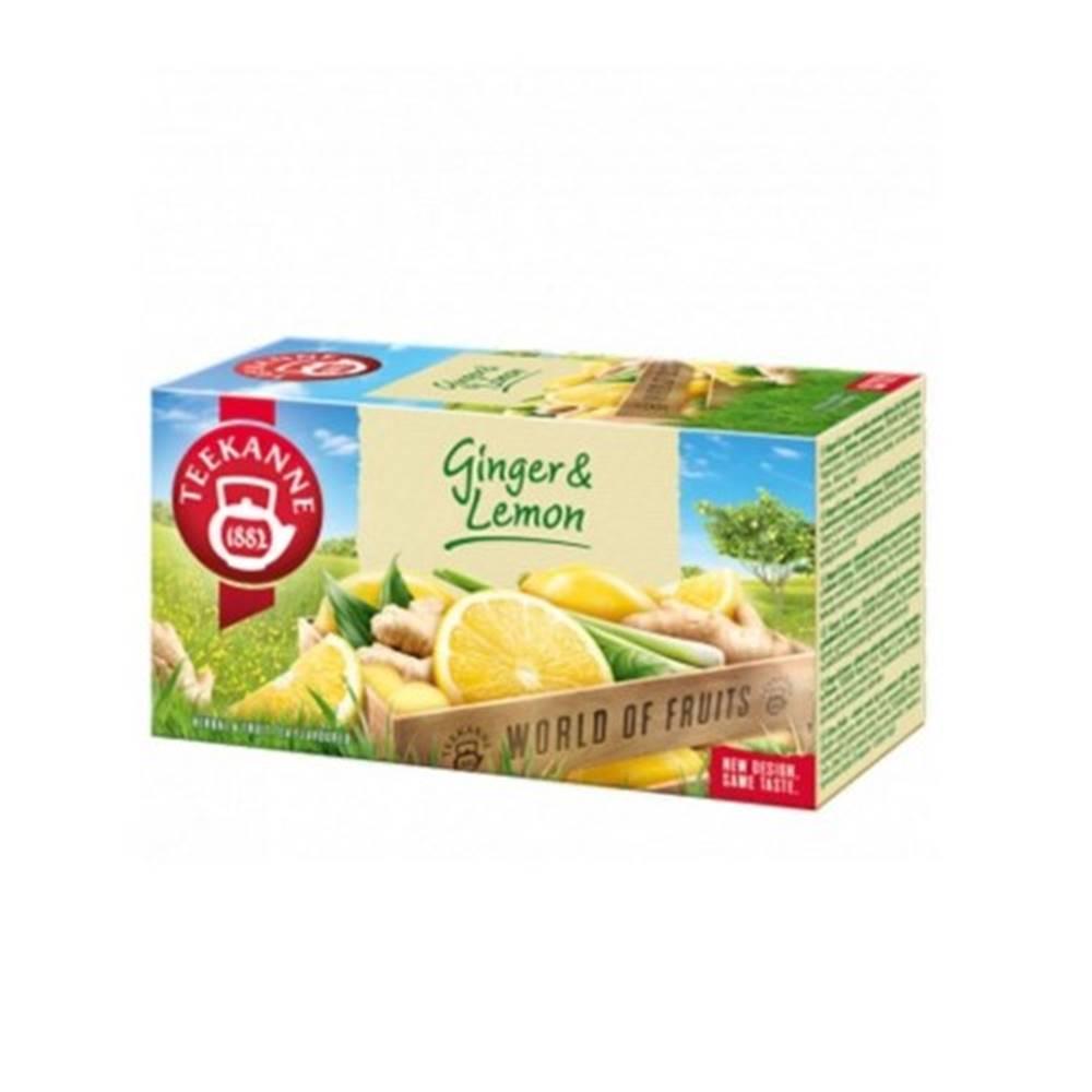 Teekanne TEEKANNE WOF Ginger & lemon 20 x 1,75 g