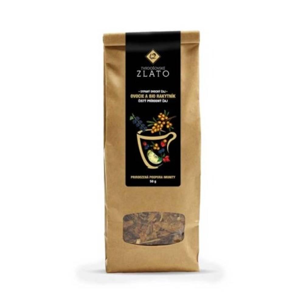 Tvrdošovské zlato TVRDOŠÍNSKE ZLATO rakytník 100% Bio sypaný čaj 50 g