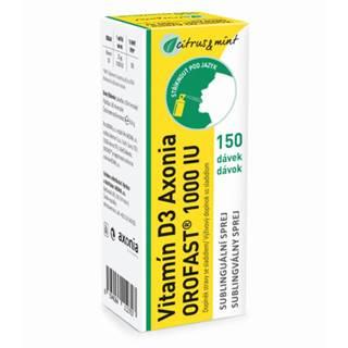 AXONIA Orofast vitamín D3 1000 IU 30 ml
