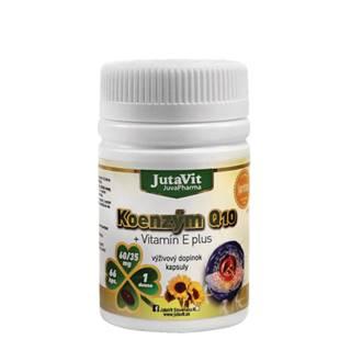 JUTAVIT Koenzým Q10 + vitamín E plus 66 kapsúl