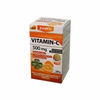 JUTAVIT Vitamín C 500 mg s príchuťou pomaranča 100 žuvacích tabliet