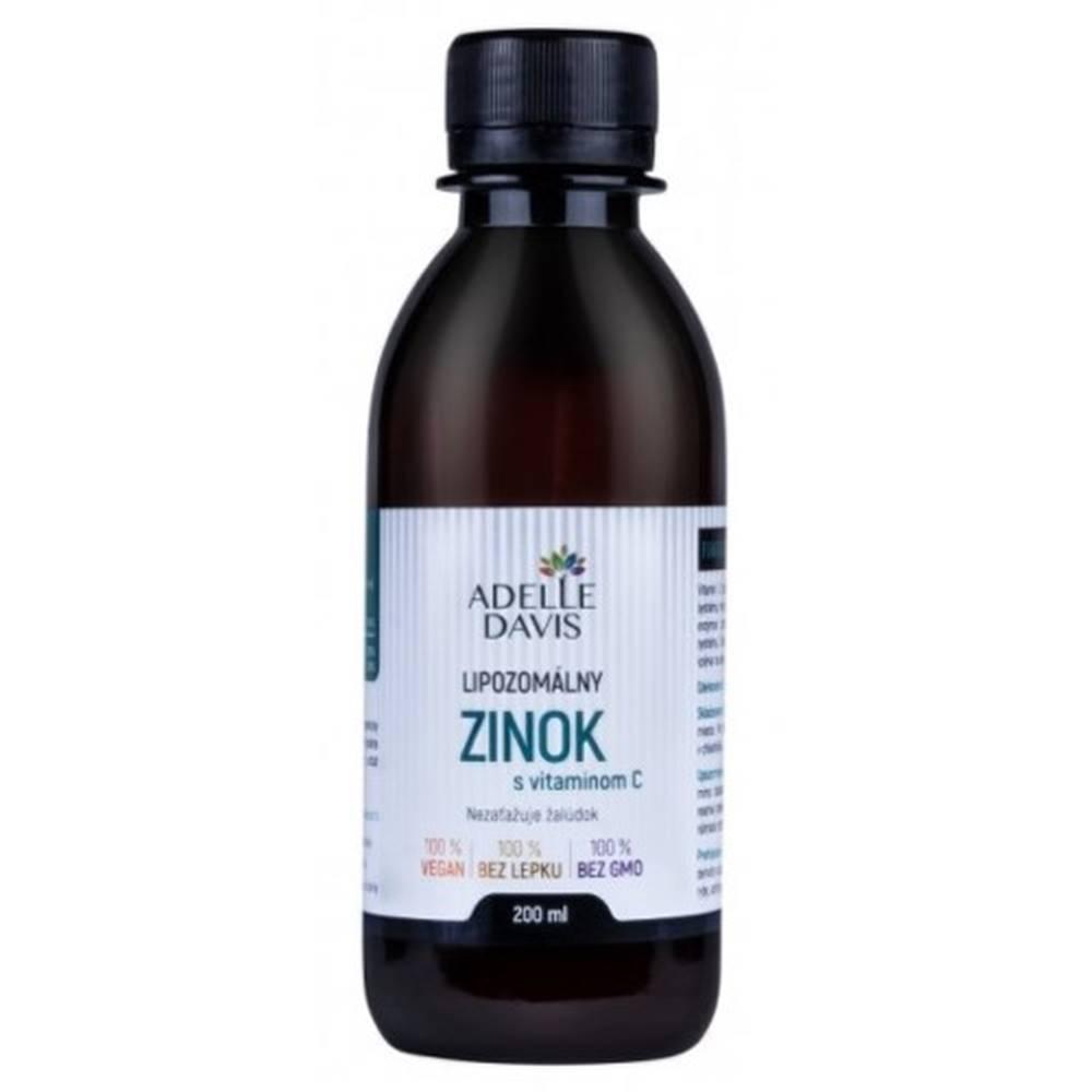 Adelle Davis ADELLE DAVIS Lipozomálny zinok s vitamínom C 200 ml