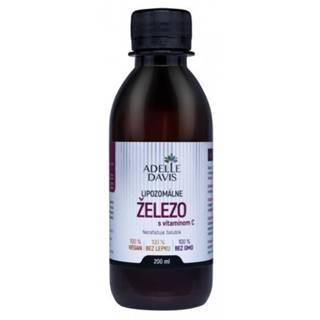 ADELLE DAVIS Lipozomálne železo s vitamínom C 200 ml