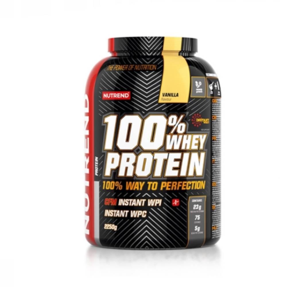 Nutrend NUTREND 100% whey protein príchuť vanilka 2 250 g