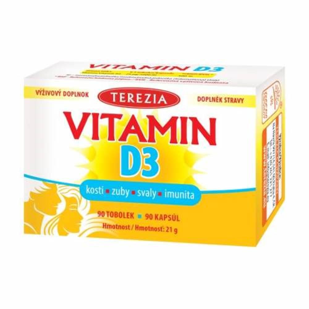 TEREZIA TEREZIA Vitamín D3 1000 IU 90 kapsúl