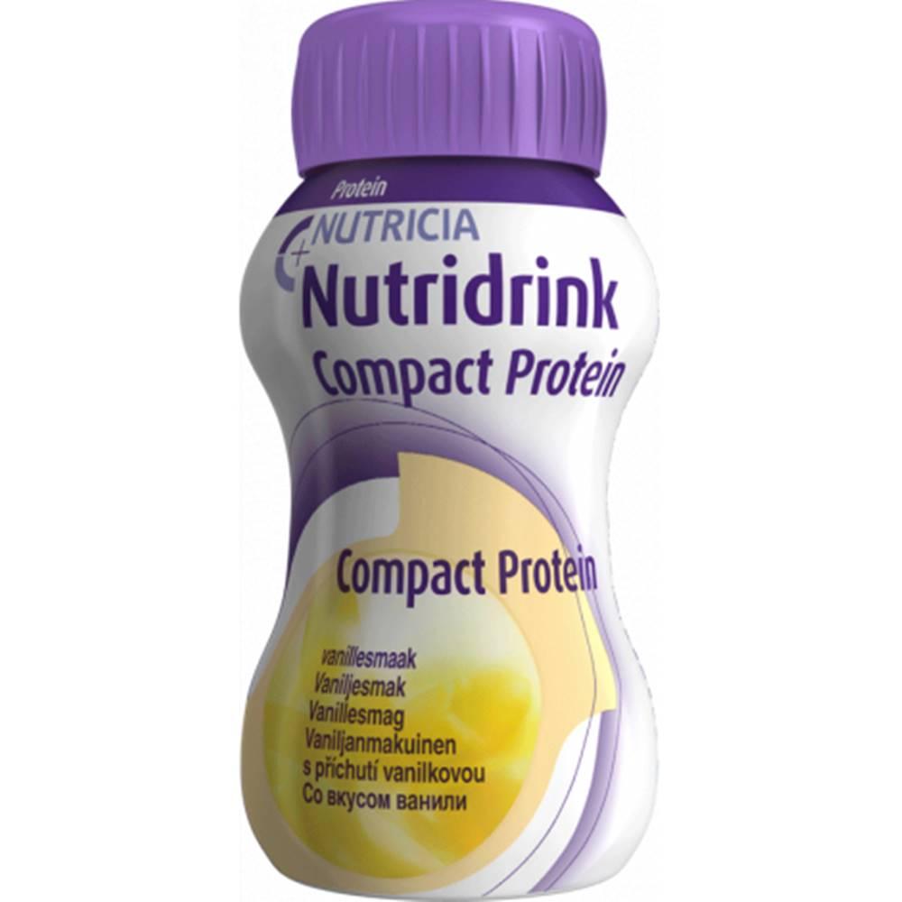 Nutricia a.s. NUTRIDRINK COMPACT PROTEIN s príchuťou vanilka 24x125 ml