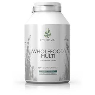 Wholefood Multi - ideálny multivitamín pre dospelých, 120 kapsúl