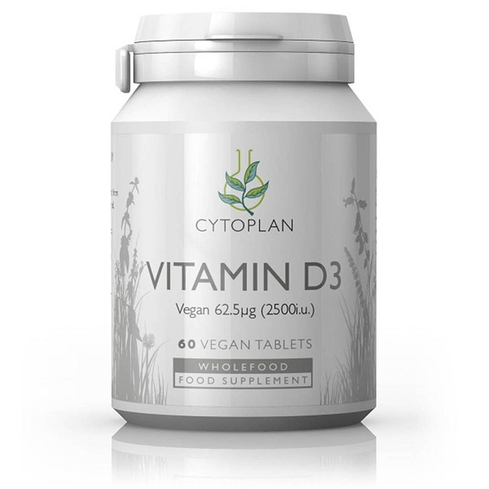 Wholefood Vitamín D3 2500 IU, 60 tabliet