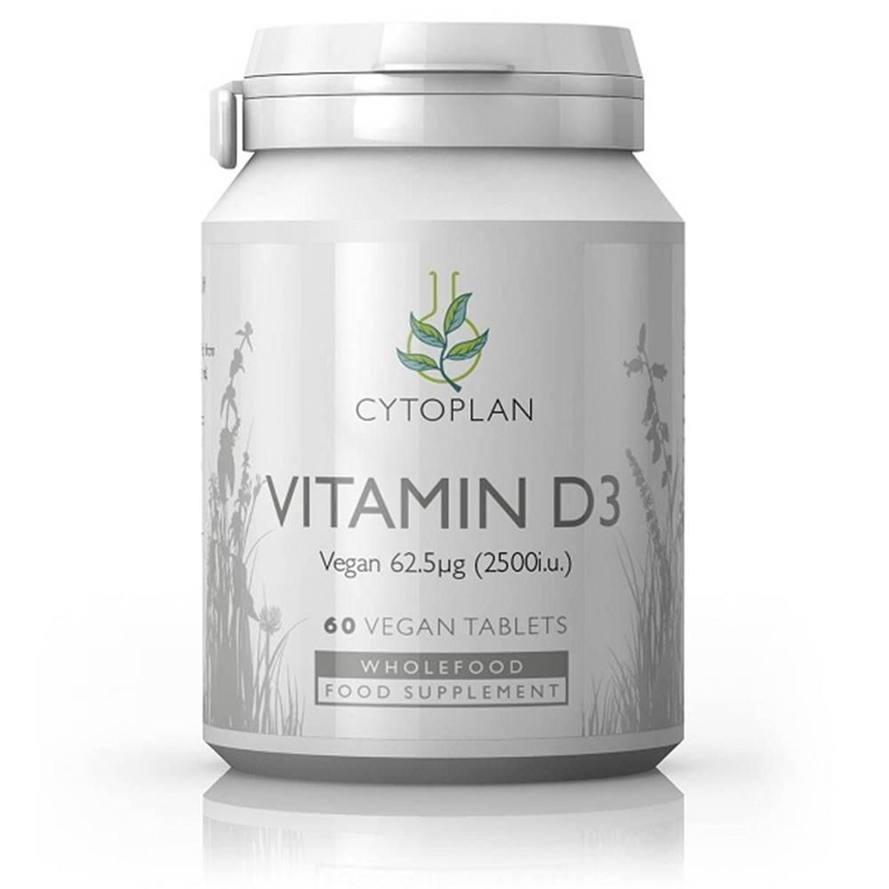Wholefood Vitamín D3 2500 IU, 60 tabliet
