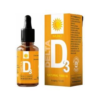 DELTA Vitamín D3 natural 1000 IU kvapky 10 ml