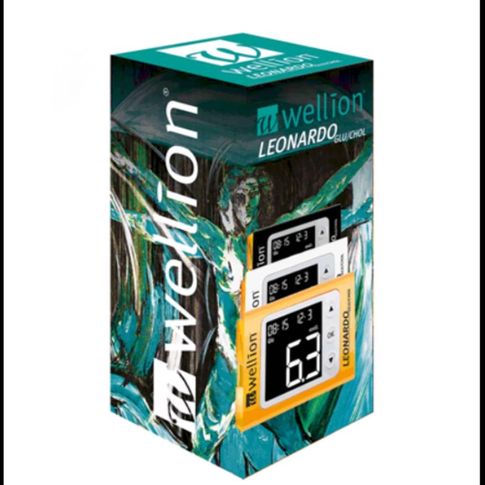 Wellion WELLION Leonardo glu/chol plus glukomer 1 set