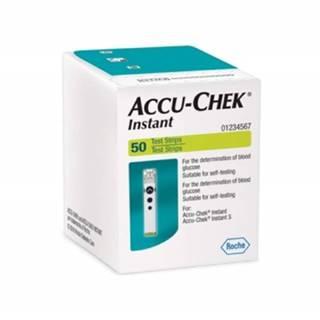 ACCU-CHEK Instant testovacie prúžky do glukomera 50 kusov