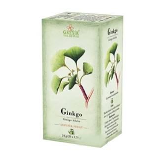 GREŠÍK Ginko bylinný čaj 20 x 1,2 g