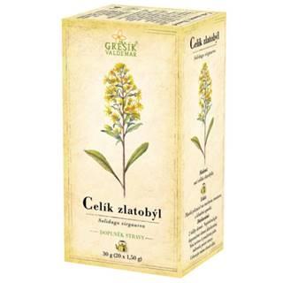 GREŠÍK Zlatobyť bylinný čaj 20 x 1,5 g